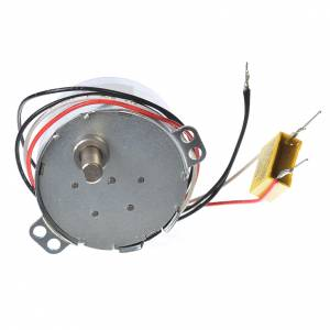 Water pumps and gear motors for nativity scenes: Motor reductor for nativities MV 1spin/minute