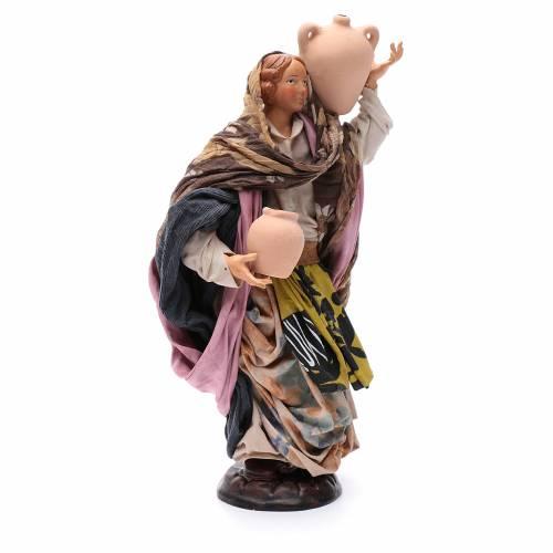 Mujer con jarra 30 cm. pesebre napolitano s3
