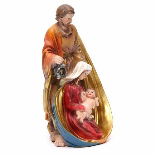 Nativité 33 cm en résine s4