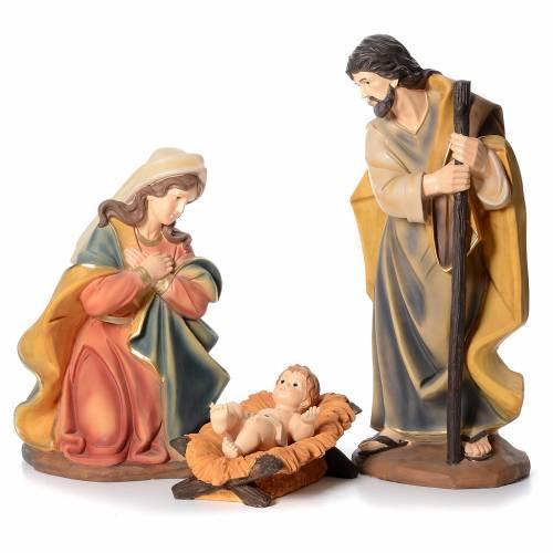 Nativité résine 100 cm 3 pcs s1