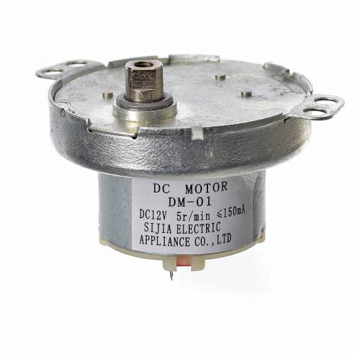 Nativity accessory, gear motor MCC5 12V s3