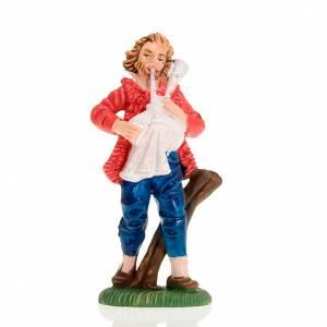 Nativity figurine, backpiper 8cm s1