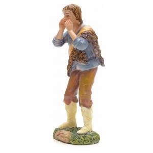 Nativity figurine, shepherd talking 21cm s2
