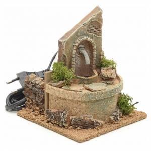 Fountains: Nativity fountain 15x12x12cm