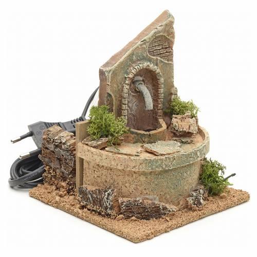 Nativity fountain 15x12x12cm s2