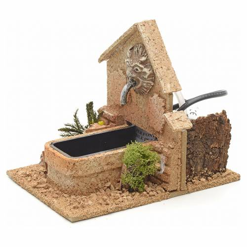 Nativity fountain, Arabian style 15x20x12cm s3