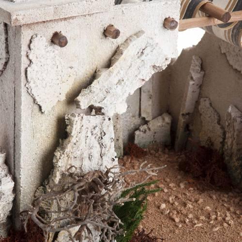 Nativity scene accessory, arabic-style hut s4