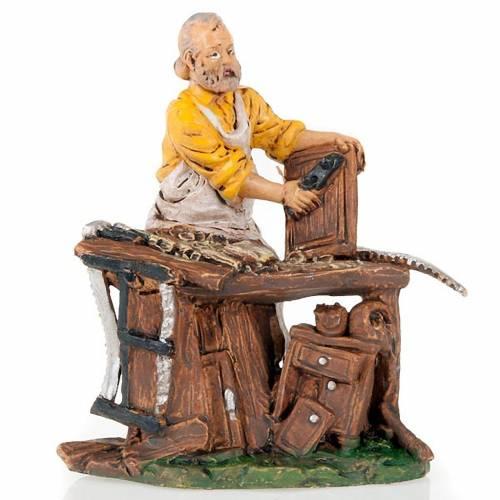 Nativity scene accessory, Carpenter figurine 13cm 1