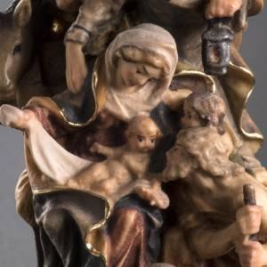 Nativity scene from Val Gardena: Nativity scene figurine, Bachtaler
