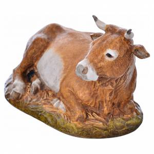 Nativity scene figurine, ox, 18cm by Landi s4