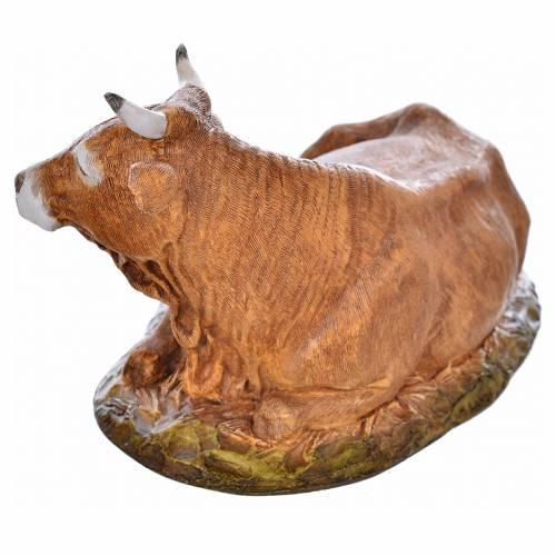 Nativity scene figurine, ox, 18cm by Landi s3