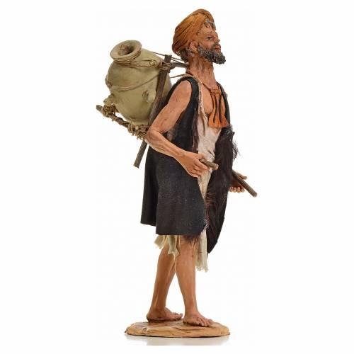 Nativity scene figurine, shepherd with amphora 30cm, Angela Trip s4