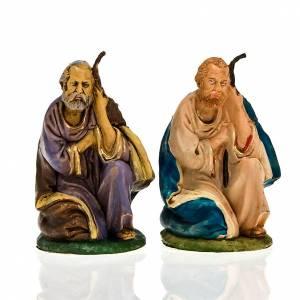 Nativity Scene figurines: Nativity scene, Saint Joseph on his knees figurine