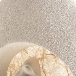 Nativity scene, tree shaped wall nativity in clay, beige s5