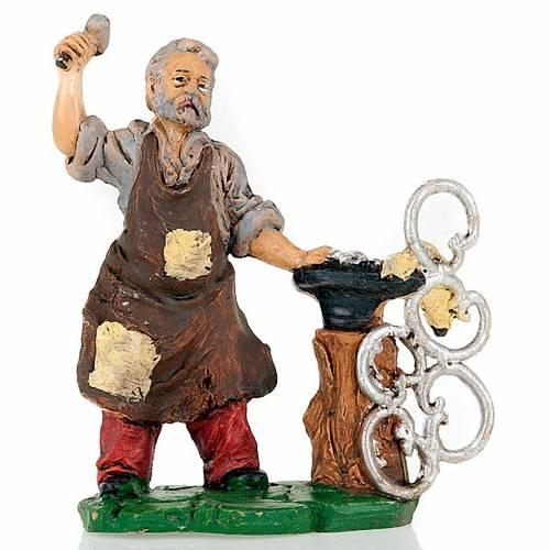 Nativity set accessory, Blacksmith figurine 13cm s1
