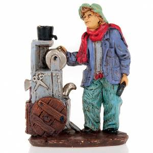 Nativity set accessory, Knife-grinder figurine s1