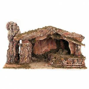 Stables and grottos: Nativity stable moss and cork, electical