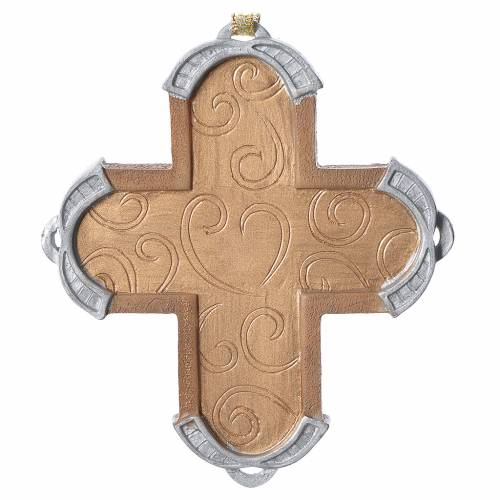 Nativty cross Hanging Ornament, Legacy of Love s2
