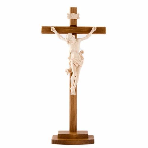 Natural ashwood crucifix s1