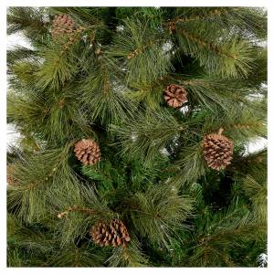 Weihnachtsbäume: Weihnachstbaum grün mit Zapfen 180cm Mod. Innsbruck
