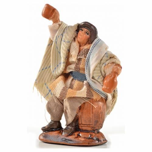 Neapolitan Nativity, Arabian style, drunkard 6cm s1