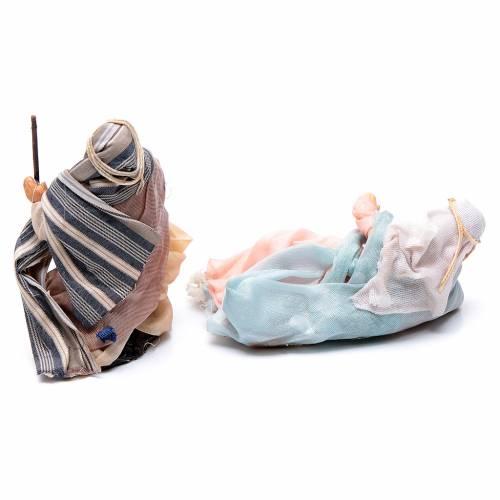 Neapolitan Nativity figurine, Arabian nativity scene, 8 cm s3