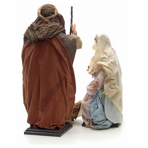 Neapolitan Nativity figurine, Joseph, Mary, baby Jesus, 45 cm s3