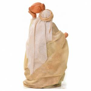 Neapolitan Nativity figurine, man with amphora, 6 cm s2