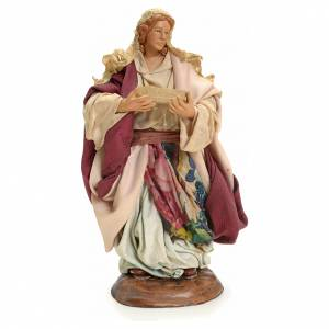 Neapolitan nativity figurine, Woman with fruit basket 18cm s1