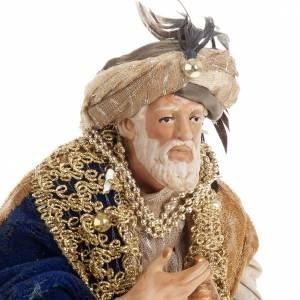 Neapolitan figurines, the Magi 30cm s6