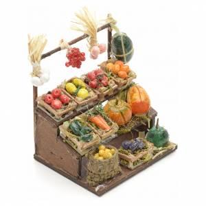 Neapolitan Nativity scene accessory, mini fruit stall, 8 cm s2