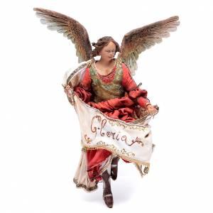 Pesebre Angela Tripi: Ángel Gloria roja 18 cm Angela Tripi