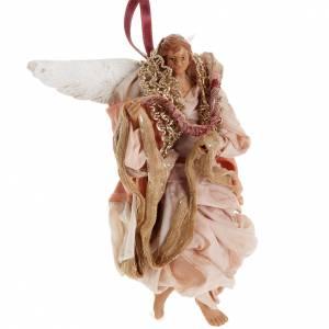 Ángel rosado 18 cm. belén napolitano s2
