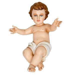 Imágenes en fibra de vidrio: Niño Jesús 40 cm en fibra de vidrio