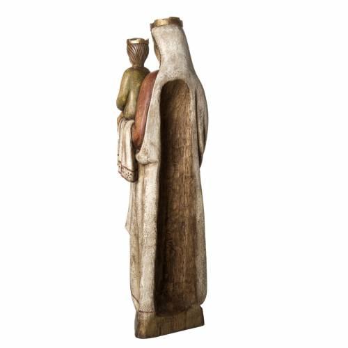Norman Virgin statue, 103 cm in painted wood, Bethléem s4