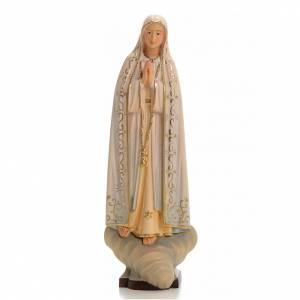 Notre Dame de Fatima bois peint Valgardena s1