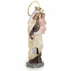 Notre-Dame du Mont-Carmel 30 cm fin. élégante pâte à bois s2