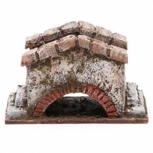 Old Bridge for nativity 8x15x9cm s1