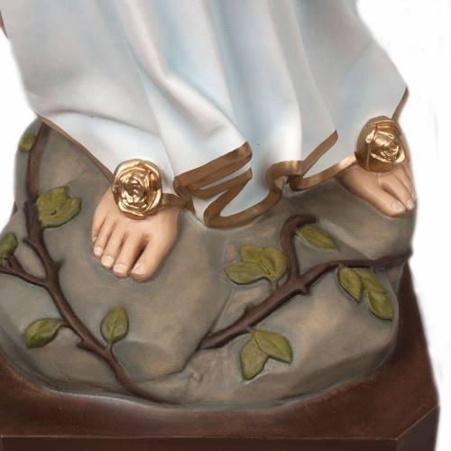 Our Lady of Lourdes, fiberglass statue, 160 cm s8