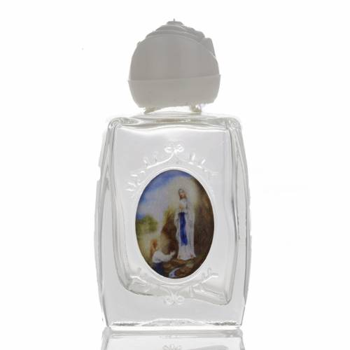 Our Lady of Lourdes holy water bottle s1