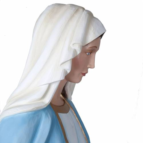 Our Lady of Miracles, fiberglass statue, 160 cm s4