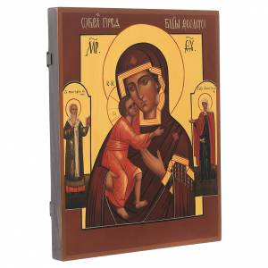 Our Lady of VLadimir Russian icon 36x30cm s2
