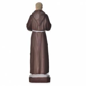 Padre Pio statue pvc incassable 16 cm s2