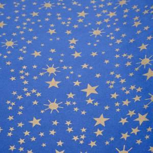 Papier ciel étoilé crèche 100x500 cm s1