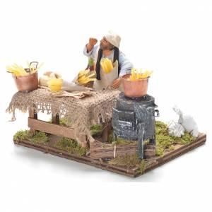 Pasta seller, Neapolitan Nativity 10cm s3