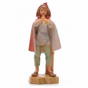 Statue per presepi: Pastore con flauto 17 cm Fontanini