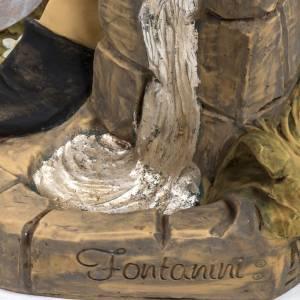 Statue per presepi: Pastore con secchi 125 cm resina Fontanini