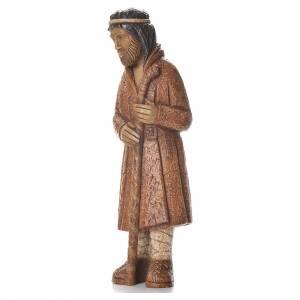 Pastore in piedi con bastone terra di Siena Pres. Contadino s2