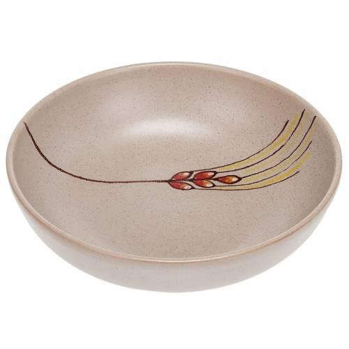 Patena de cerámica , 16cm diámetro Beis s1