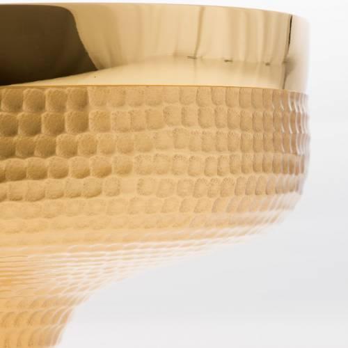 Patena de latón martillado diámetro 16cm s3